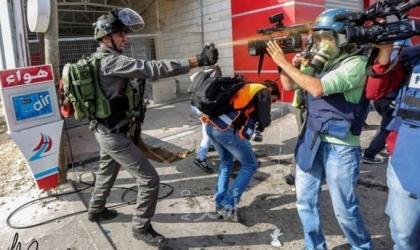 """""""الإعلام"""": (35) انتهاكا إسرائيلياً بحق الصحفيين الفلسطينيين خلال """"سبتمبر 2021"""""""