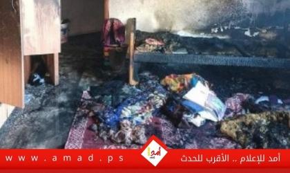 الدفاع المدني: وفاة مواطن وإصابة زوجته وابنته بحريق منزلهم في القدس