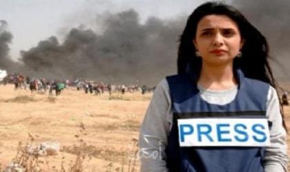 """الصحفية """"رواء مرشد"""" تروي تفاصيل اعتداء أمن حماس عليها"""