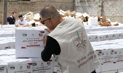 """""""مؤسسة إماراتية"""" تُقدم مشروع إفطار صائم لـ(50) ألف فلسطيني في غزة"""
