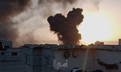 شهداء وجرحى..قصف مواقع أمنية ومدنية..ورد صاروخي على بلدات إسرائيلية