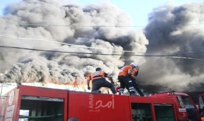 غزة: الدفاع المدني يكشف النقاب عن الوضع الكارثي للغارات الجوية الإسرائيلية