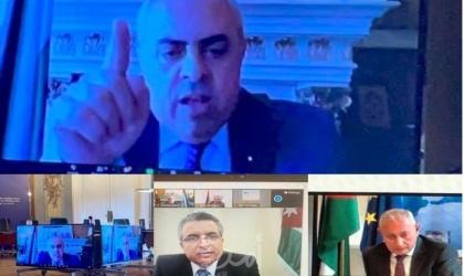 """السفير الفرّا يمثّل دولة فلسطين في اجتماع """"الاتحاد من أجل المتوسط"""""""