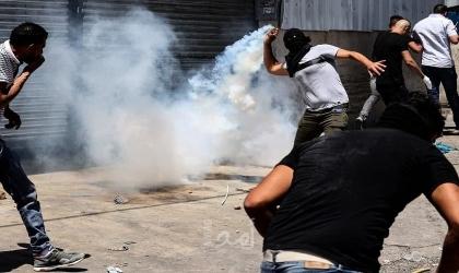 اندلاع مواجهات مع قوات الاحتلال في الخضر جنوب بيت لحم
