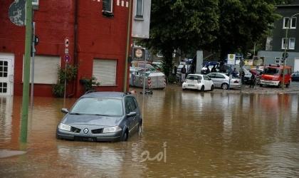 ميركل تصاب بالصدمة من هول فيضانات ألمانيا: مشاهد مرعبة