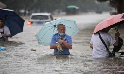 """شي يحذّر من وضع """"خطير جداً"""" بسبب الفيضانات في وسط الصين"""