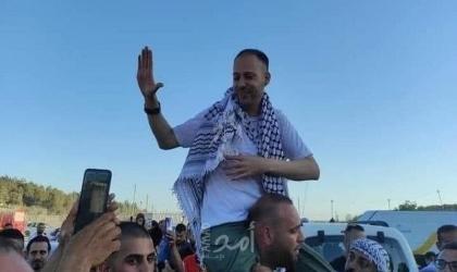 سلطات الاحتلال تفرج عن الأسير مريد غيث من دير غسانة بعد قضائه 17 عاماً في الأسر
