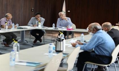 لجنة الانتخابات تٌطلع الفصائل على مفاصل المرحلة الأولى من الانتخابات المحلية