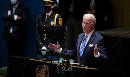بايدن يقع في زلة لسان خلال أول خطاب له بالأمم المتحدة - فيديو