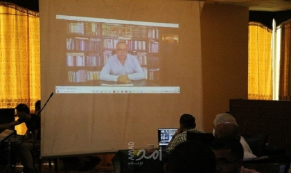 أبو سيف: للفن الفلسطيني دور كبير في حمل قضيتنا والتعبير عن آمال شعبنا وتطلعاته - صور