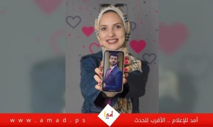 وأخيرا آلا عابد  تحقق حلمها وتلتقي زوجها ويشكرون السيسي - فيديو