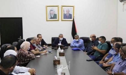 قلقيلية: المحافظ يلتقي وفدا من الناصرة يرافقه وفد من جمعية خريجي تركيا - فلسطين