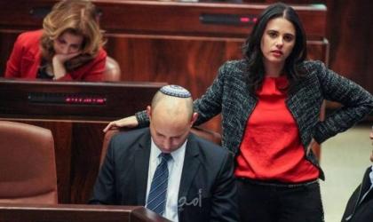 احتقان داخل الحكومة الإسرائيلية عقب الكشف عن اتصالات لوزيرة الداخلية  شاكيد مع المعارضة