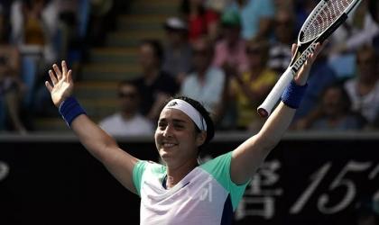 التونسية أنس جابر أول لاعبة تنس عربية تدخل قائمة العشرة الأوائل عالميًا
