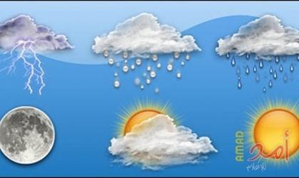 الطقس: انخفاض الحرارة اليوم
