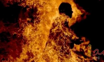 غزة: شاب يٌقدم على حرق نفسه أمام بنك الأردن