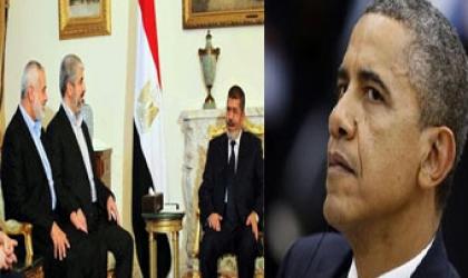 """أوباما كان على علم بدعم """"مرسى"""" لـ""""حماس"""" (ح3)"""