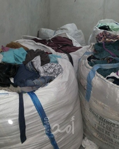 """اقتصاد غزة توضح أسباب السماح بإدخال الملابس المستخدمة """"البالة"""" إلى القطاع"""