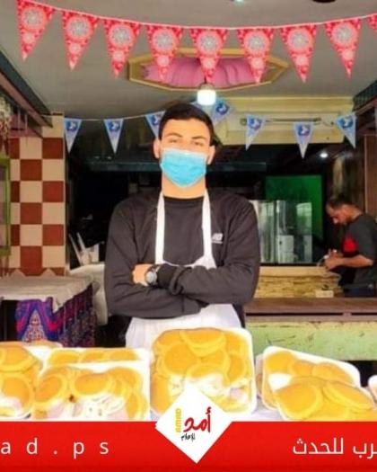 """""""القطايف"""".. حلوى رمضان الشهيرة تشتكي ضعف الإقبال بسبب """"كورونا"""" في غزة - صور"""