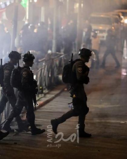محدث.. إصابات بمواجهات مع قوات الاحتلال في القدس والعشرات يؤدون صلاة التراويح