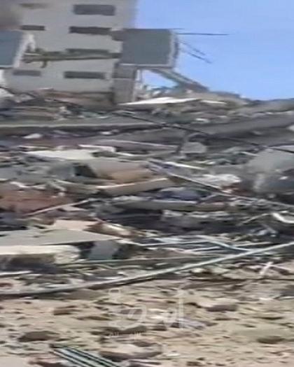 اللجنة الحكومية العليا لإعمار غزة تعلن نتائج الحصر التفصيلي لأضرار العدوان الأخير على غزة