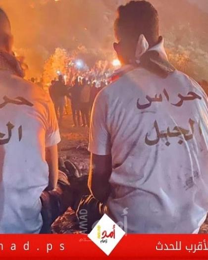 نابلس: لجنة تنسيق الفصائل تدعو لتصعيد المقاومة الشعبية على جبل صبيح