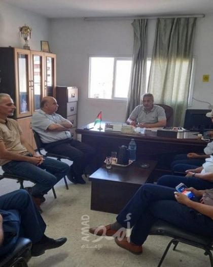 لجنة متضرري عدوان 2014 تجتمع مع رؤساء اللجان الشعبية للاجئين بالوسطى